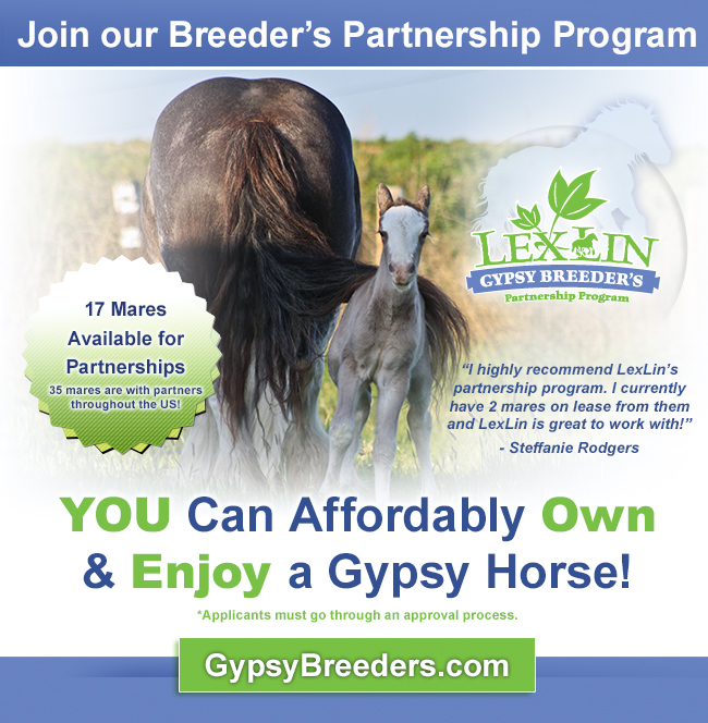 Join our Breeder's Partnership program announcement April 2013