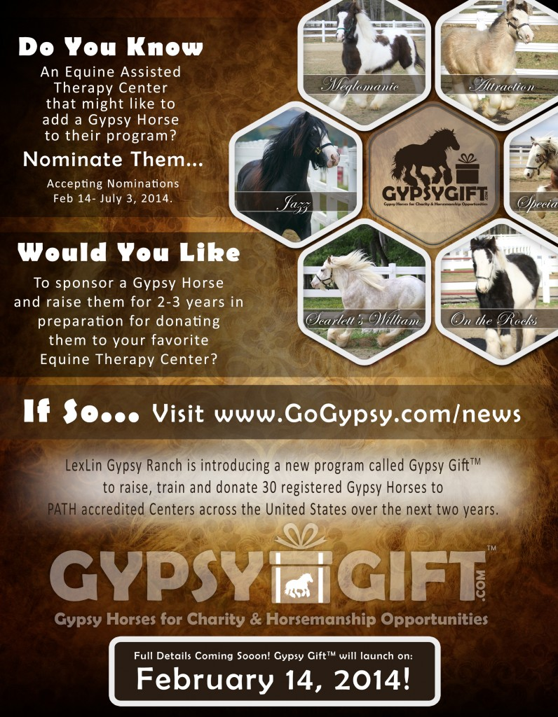 Gypsy Gift Intro Announcement