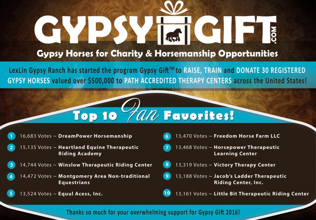LexLin Gypsy Ranch Gypsy Gift -Top 10 2016